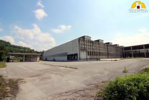 Mondovì capannone con uffici e piazzale