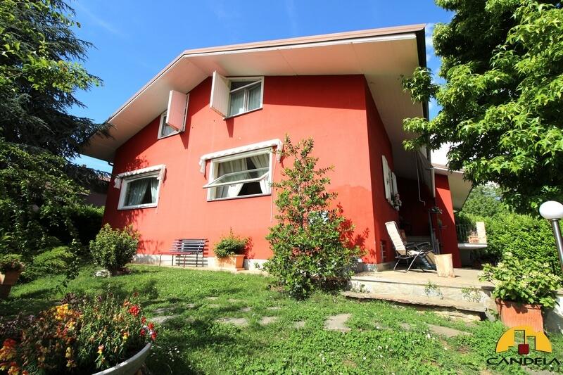 Villanova Mondovì elegante villa con giardino